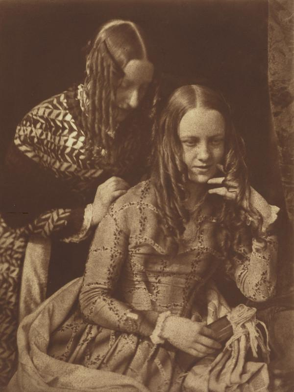 Unknown Woman and Young Girl