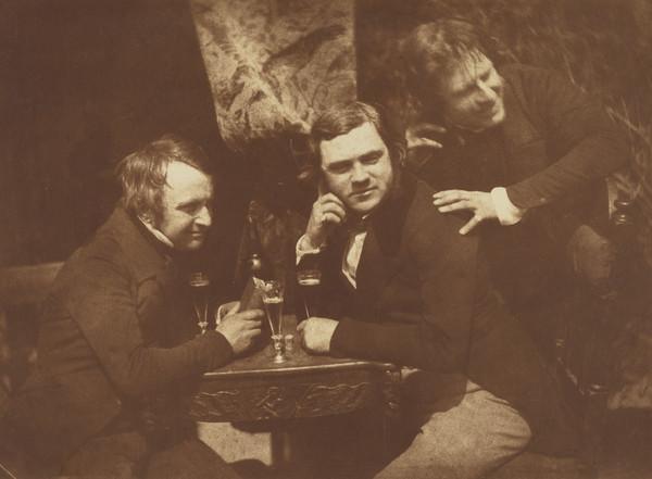 David Octavius Hill, J. Ballantyne and Dr. Bell