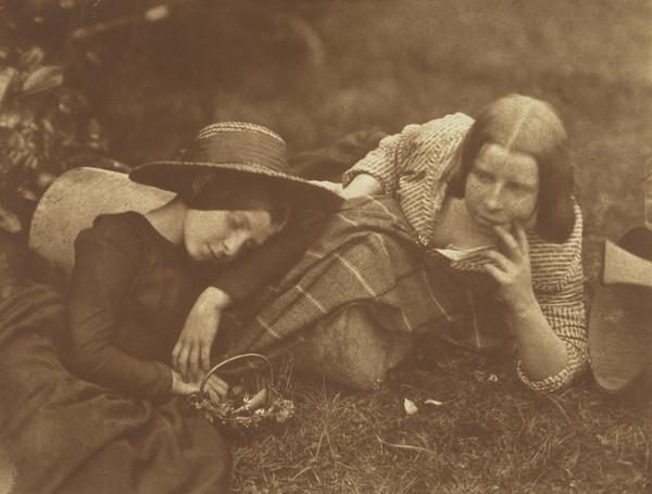 Two Unknown Young Girls