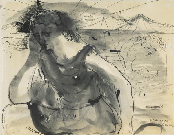 Untitled (Woman by the Sea) (1947)
