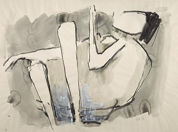 Untitled (Reclining Nude) (1962)