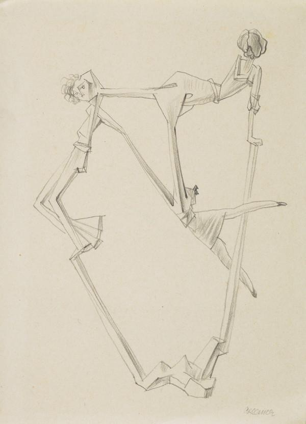Untitled (Unpublished Study for Georges Hugnet's 'Oeillades ciselees en branche') (About 1938 - 1939)