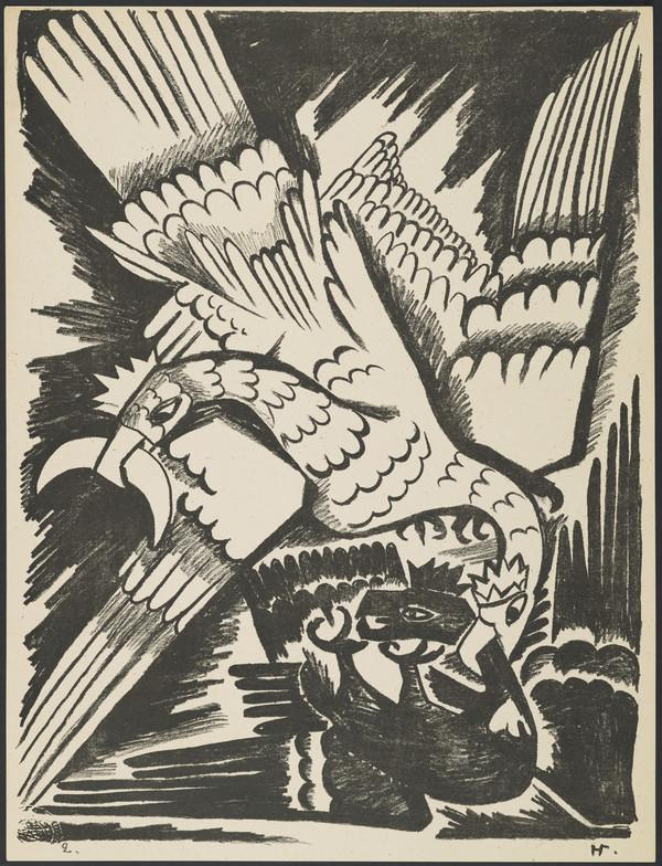 'The White Eagle' from the portfolio 'Images of War' (1914)