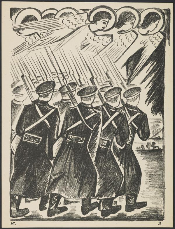 'Devoted Christian Troops' from the portfolio 'Images of War' (1914)