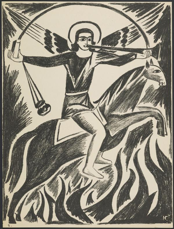 'Archangel Michael' from the portfolio 'Images of War' (1914)