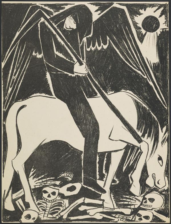 'The Pale Horse' from the portfolio 'Images of War' (1914)