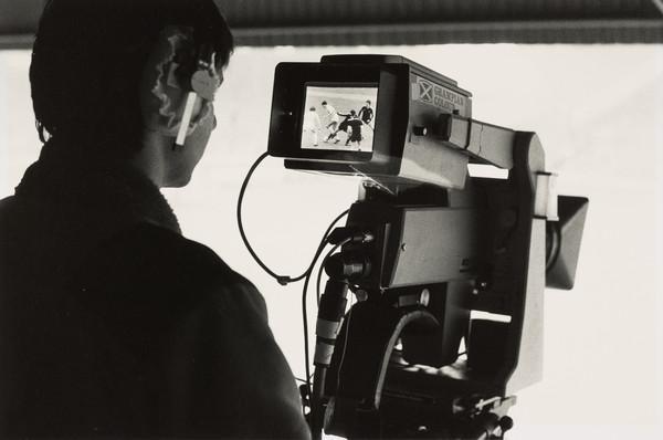 Movie Camera and Cameraman