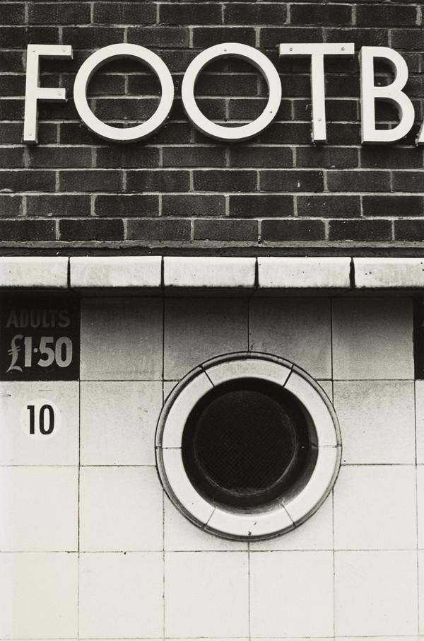 Football Ground, Round Window at Entrance