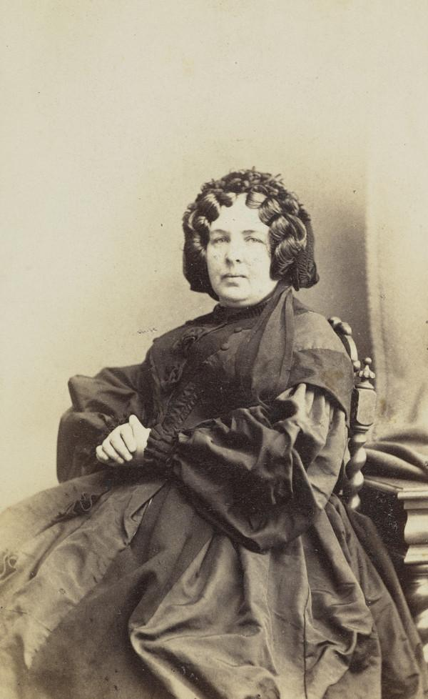 Jessie Carrick, 1810 - 1876. Mother of William Carrick, the photographer