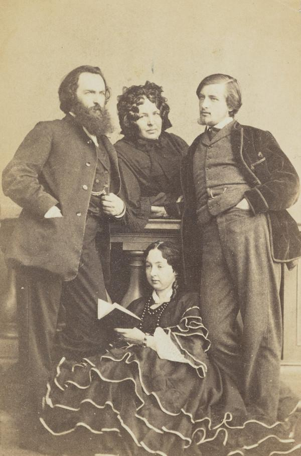 William Carrick, his mother, brother (George) and sister (Jessie)