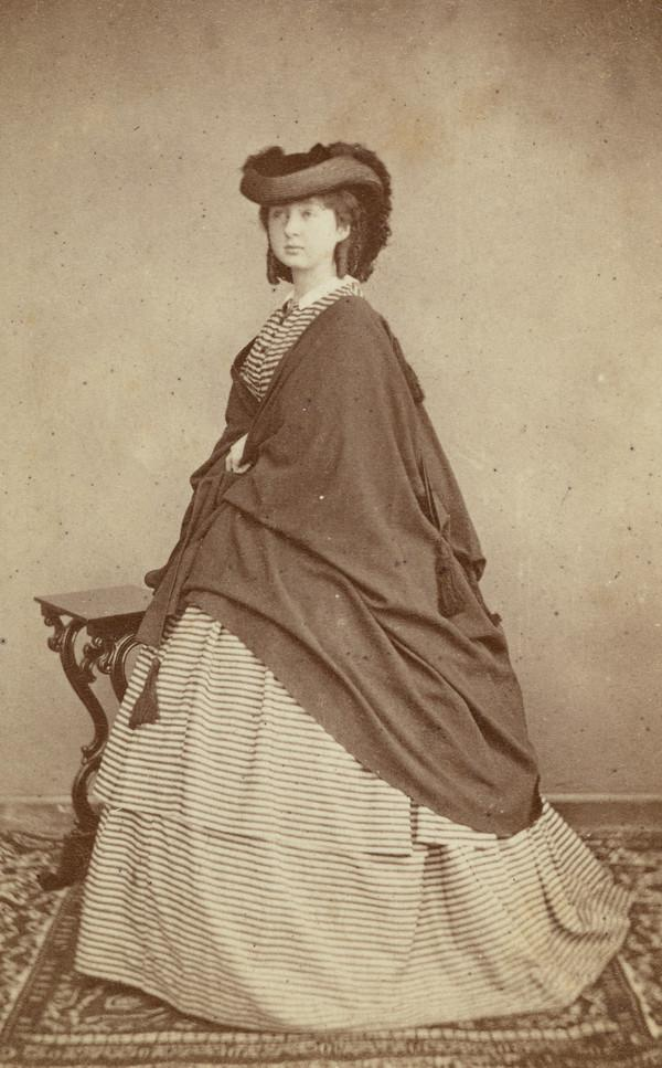 Jessie Carrick (photographer's sister) (Probably 1860)