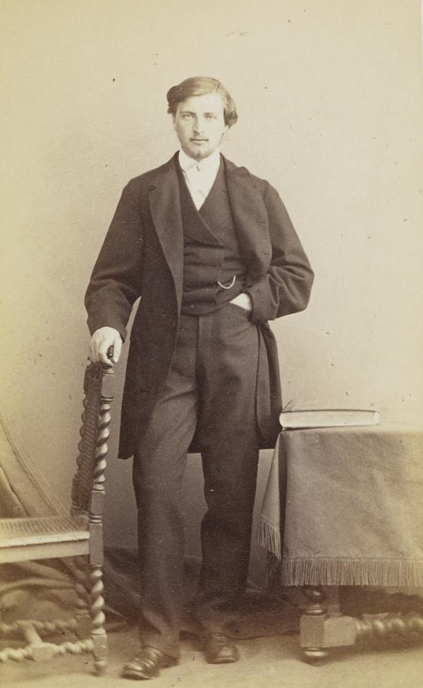 George Carrick (photographer's brother) (About 1860)