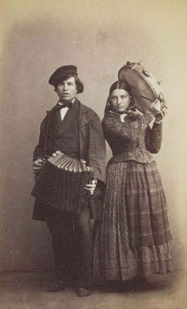 Street Musicians, St Petersburg (About 1860)