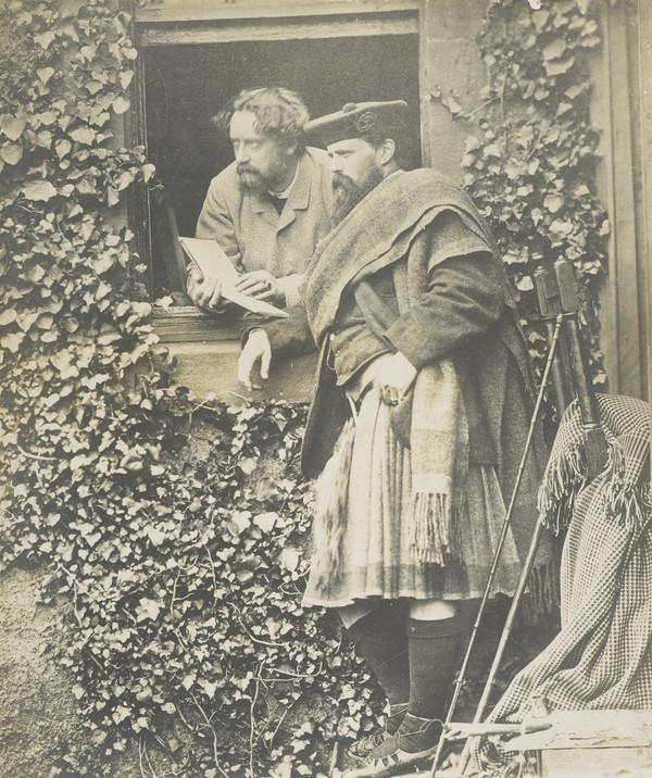 Sir Joseph Noel Paton, 1821 - 1901. Artist. With Waller Hugh Paton, 1828 - 1895. Artist
