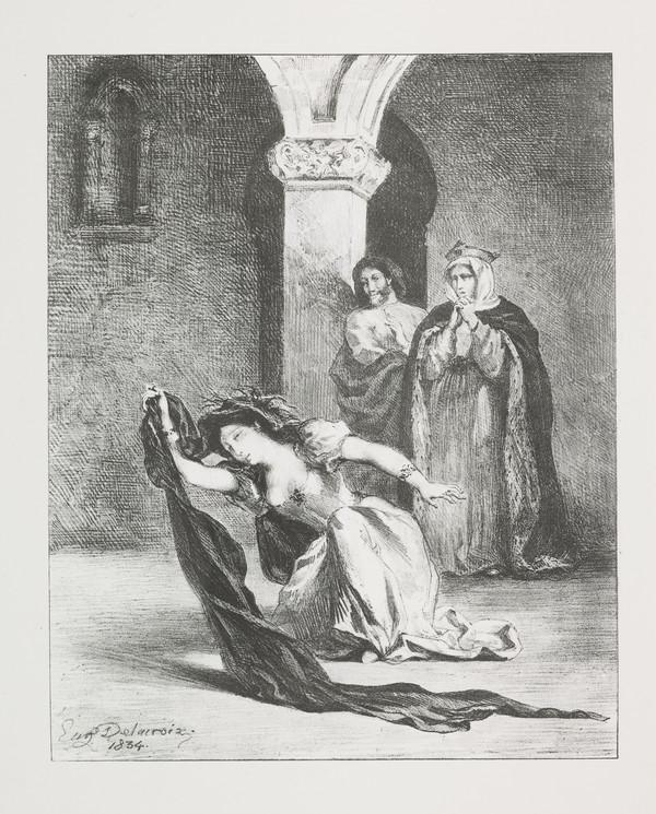 Le Chant D'Ophelie' (Ophelia's Song) (Act IV, Scene V) (Published 1864)