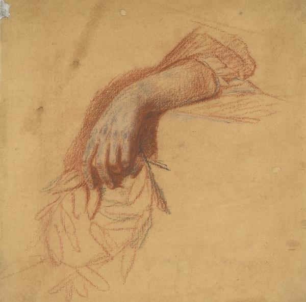 A Hand. Study for the Painting of 'Flora MacDonald' (c 1749)