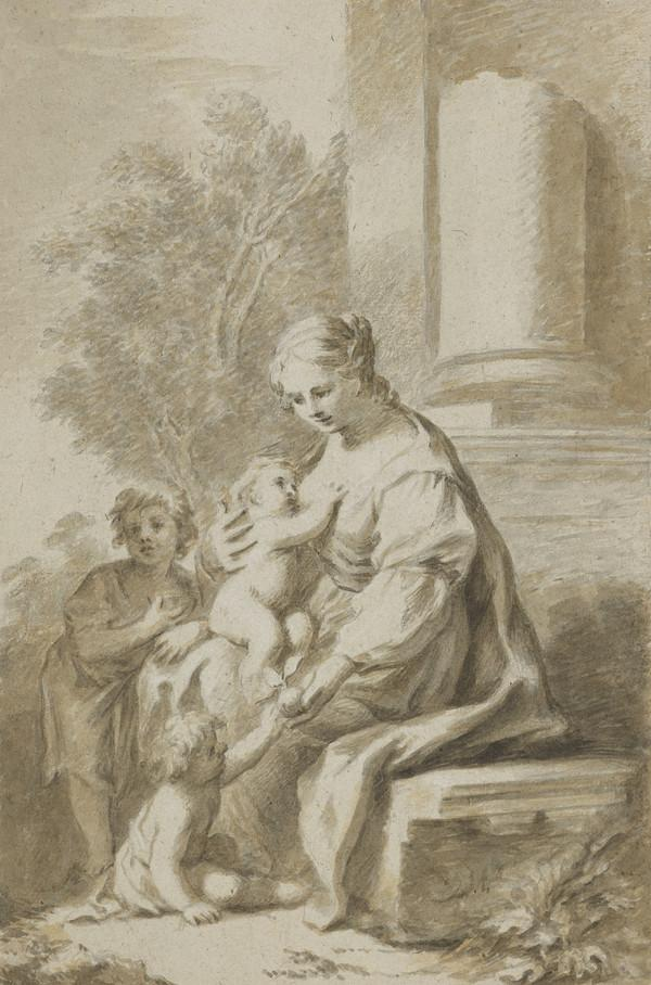Madonna and Child. Copy after Milano di Pisa (Estimated earliest year: 1728)