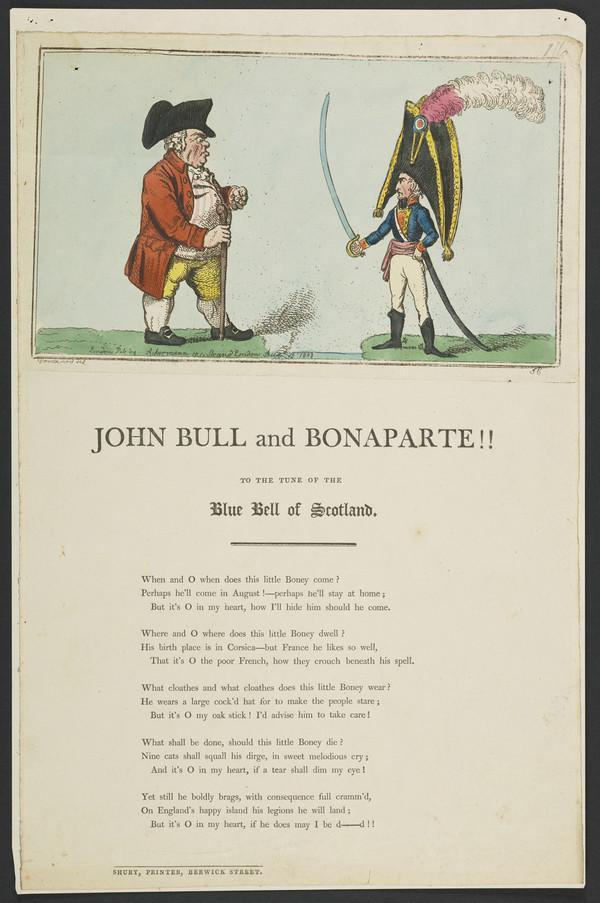 John Bull and Bonaparte!! (1803)