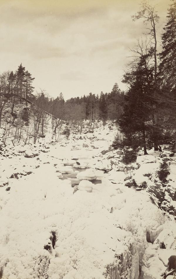 Snow scene, 'The Hermitage' (1881)