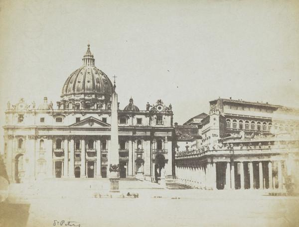 St Peter's Basilica, Rome (1847 or later)
