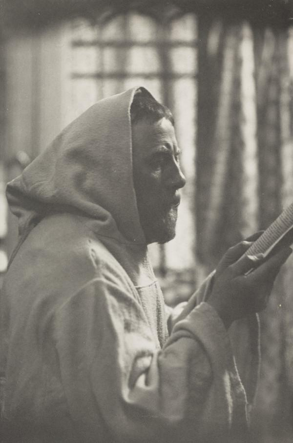 John Pettie, 1839 - 1893. Artist. (Dressed as a monk)