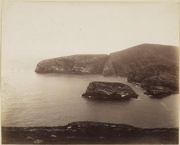 St Kilda, Cliffs and sea