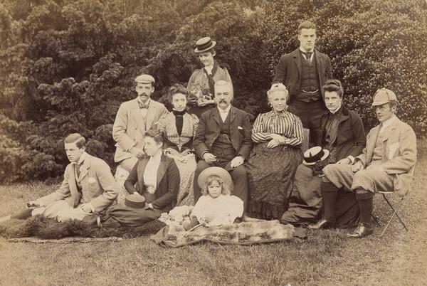 Boyd Family (Sir John Boyd 1826 - 1893)