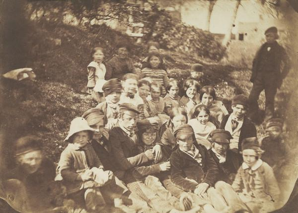 A Group of Children (About 1852)