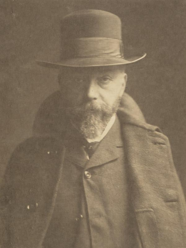 Unknown Man with a Beard wearing a Hat