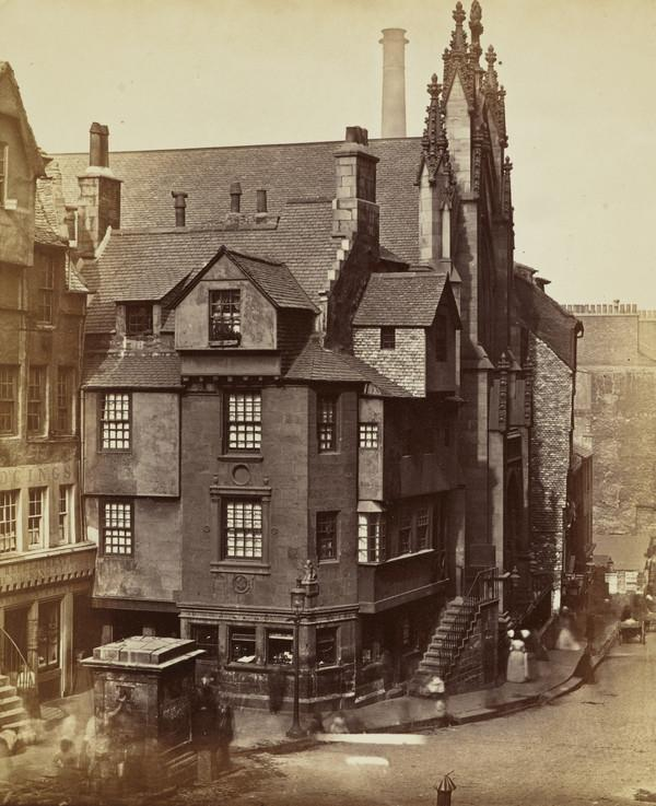 House of John Knox, Netherbow.