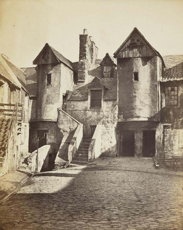 White Horse Close, Canongate.