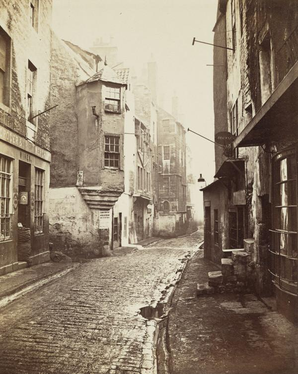 Cardinal Beaton's House, the Cowgate, Edinburgh (1868)