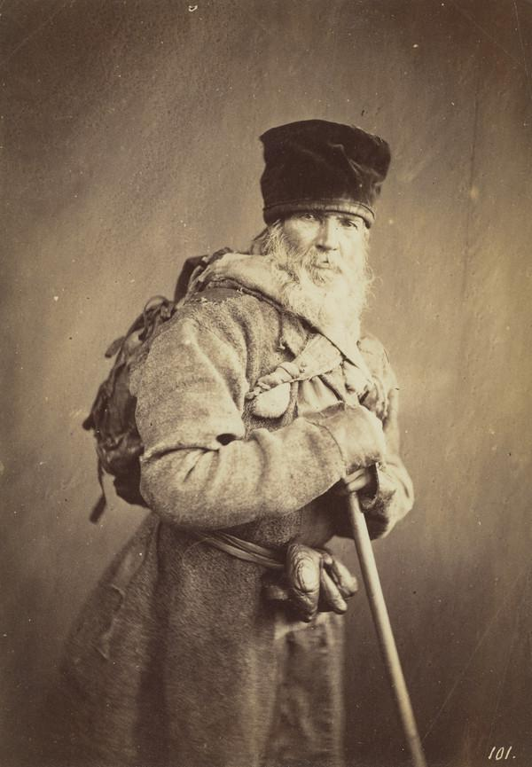 Russian Pilgrim (About 1860)