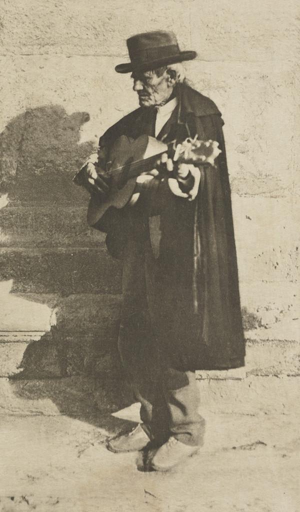 A Blind Musician - Granada (1913)