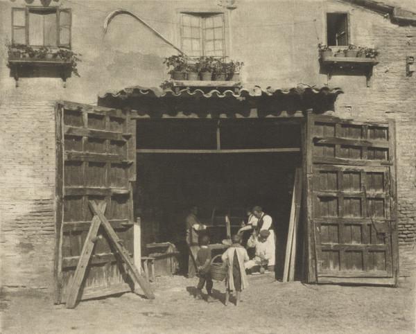 A Carpenter's Shop - Toledo (1913)