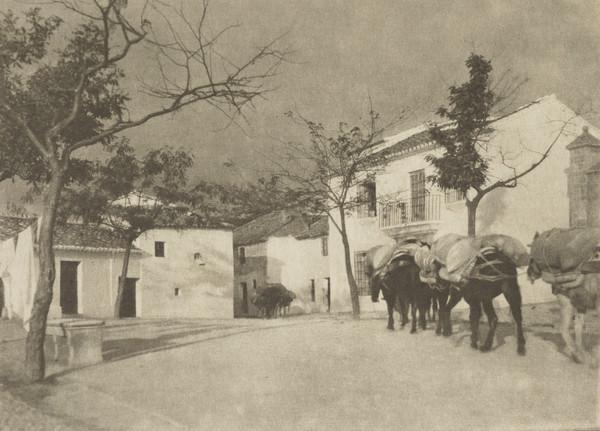 A Square - Ronda (1913)