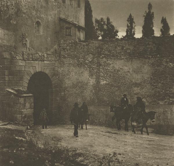 A Gateway - Segovia (1913)