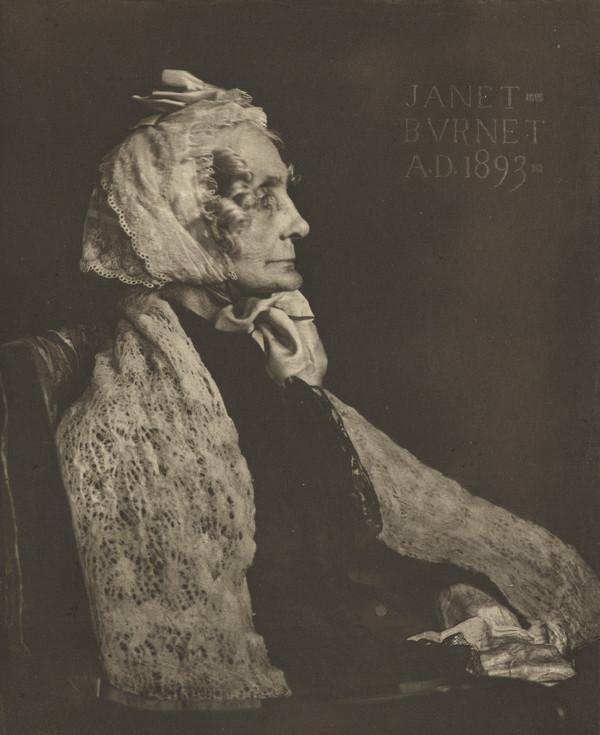 Miss Janet Burnet (1893)