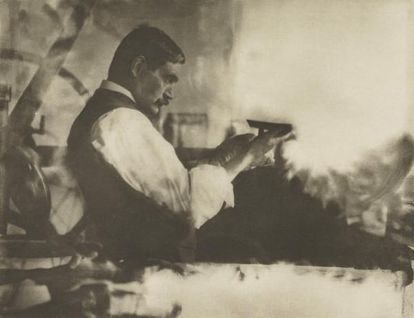 The Etching Printer - William Strang, 1859 - 1921 (1902)