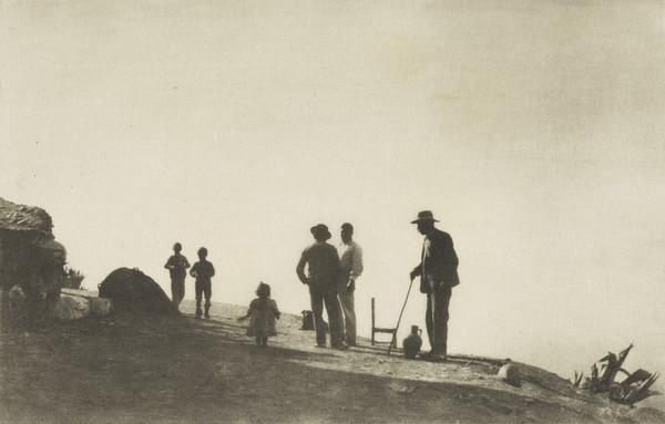 On a Hill Road, Granada (1913)