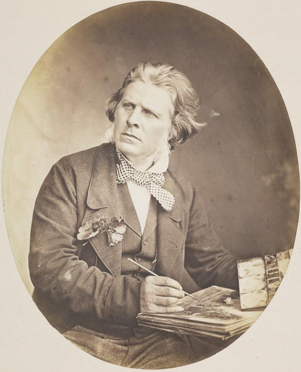 David Octavius Hill, 1802 - 1870. Artist and pioneer photographer (About 1855)