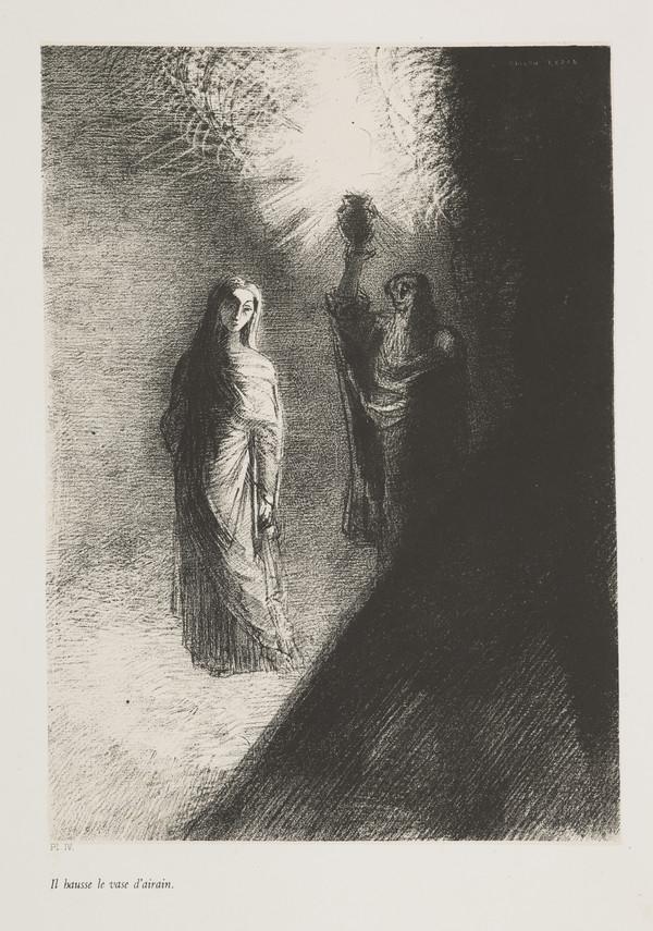 'The Temptation of Saint Anthony'. 'Il hausse le vase d'airain' (Plate IV) (Published 1888)