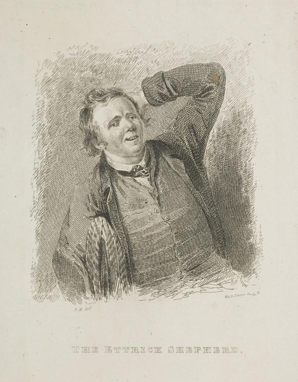 James Hogg, 1770 - 1835. Poet; 'The Ettrick Shepherd' (Published 1819)