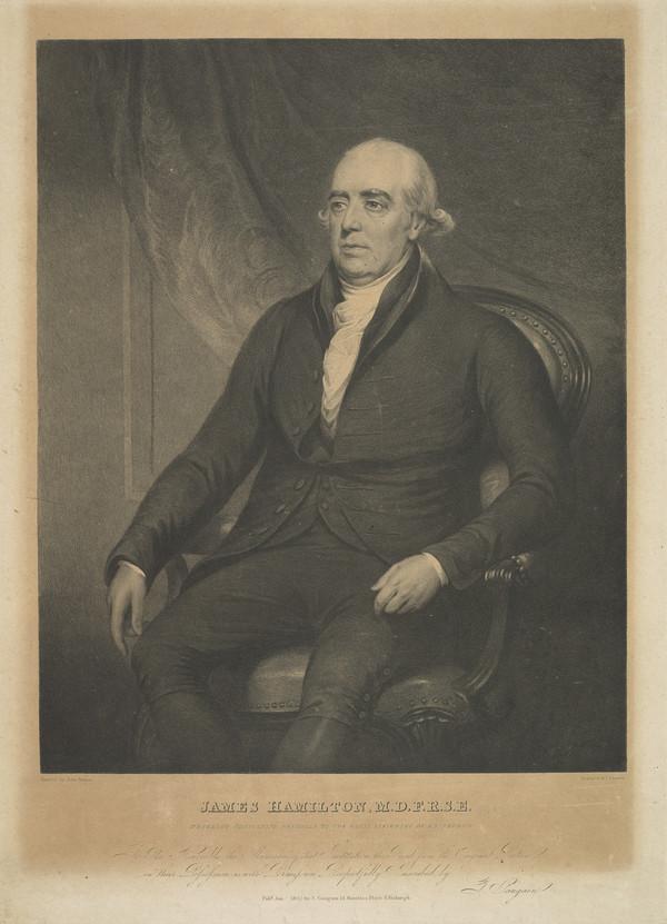 James Hamilton, 1749 - 1835. Physician (Published 1825)