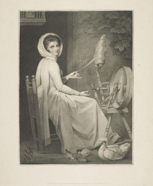 Emma (Hart), Lady Hamilton, c 1761 - 1815. Wife of Sir William Hamilton; mistress of Lord Nelson (Published 1789)