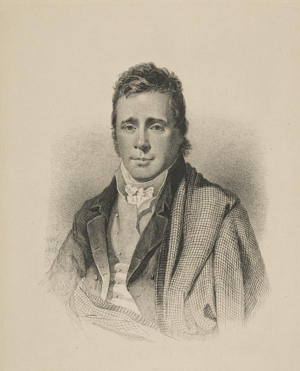 James Hogg, 1770 - 1835. Poet; 'The Ettrick Shepherd'