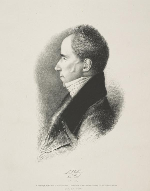 Francis Jeffrey, Lord Jeffrey, 1773 - 1850. Judge and critic (Published 1837)