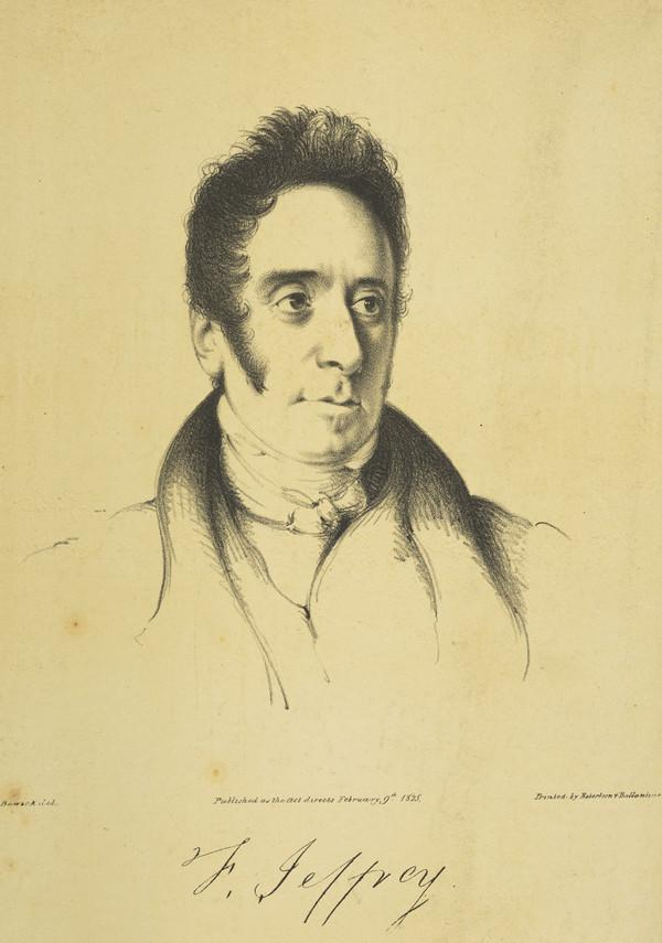 Francis Jeffrey, Lord Jeffrey, 1773 - 1850. Judge and critic (Published 1825)