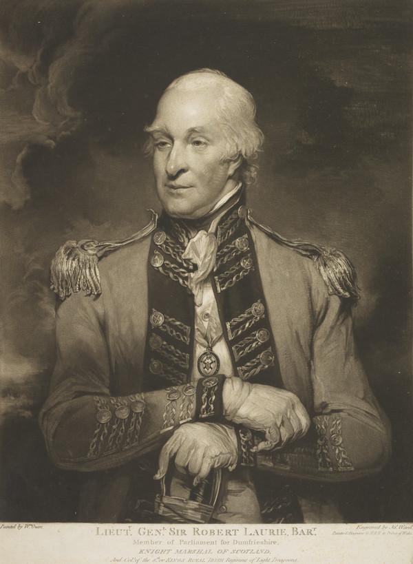 Sir Robert Laurie, c 1748 - 1804. General