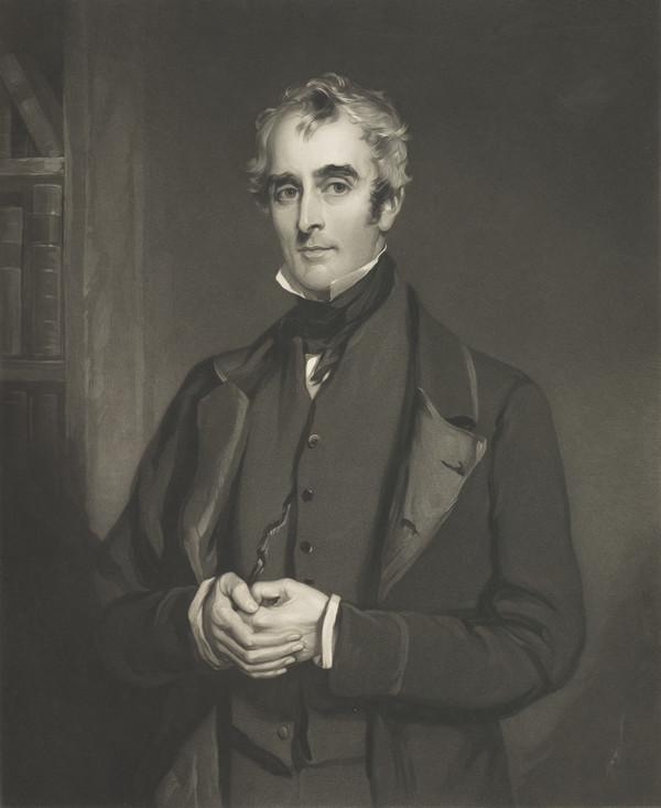 John Gibson Lockhart, 1794 - 1854. Son-in-law and biographer of Scott